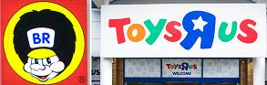 BR- leksaker och Toys R US