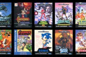 40 St inbyggda Klassiska Sega-spel