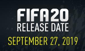 När släpps Fifa 20 ?