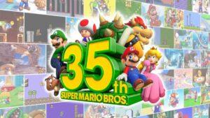 Super Mario Fyller 35 År